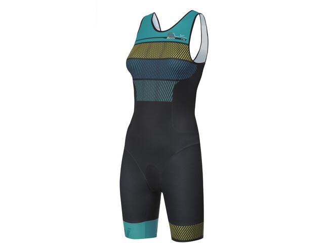 Santini Sleek 776 Strój triathlonowy bez rękawów Kobiety, acqua